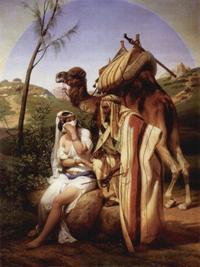 Abb. 6 Juda und Tamar (Horace Vernet; 1840).