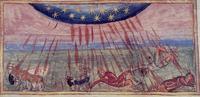 Abb. 3 Hiobs Unheil (Codex Sinaiticus Graecus 3; 11. Jh.).