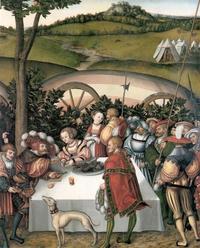 Abb. 4 Holofernes hat Judit eingeladen (Lukas Cranach d. Ä.; 1472-1553).