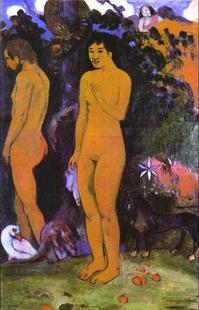 Abb. 2 Adam und Eva (Paul Gauguin; 1902).