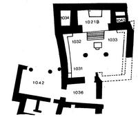 Aus: W. Zwickel, Der Tempelkult in Kanaan und Israel (FAT 10), Tübingen 1994, 187, Abb. 38; © Wolfgang Zwickel