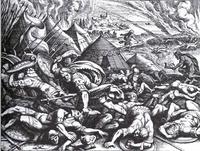 Abb. 3 Samsons seltsame Waffe (Matthäus Merian d.Ä.; 1627).