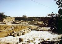 Abb. 8 Ausgrabungen auf *Rāmet el-Chalīl* (Blick nach Osten).