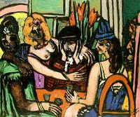 Beckmann, Prodigal, 1949, Quelle: http://artchive.com/, scan by Mark Harden