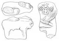 Aus: O. Keel / Chr. Uehlinger, Götter, Göttinnen und Gottessymbole (QD 134), Freiburg 5. Aufl. 2001, Abb. 44; © Stiftung BIBEL+ORIENT, Freiburg / Schweiz