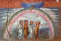Abb. 5 Der Noah-Bund (Wiener Genesishandschrift; 6. Jh.).