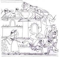 Zeichnung Theresa Steckel; © Andreas Kunz-Lübcke (British Museum, WA 124554)