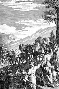 Abb. 2 Rückkehr der Lade nach Kirjat-Jearim (Phelipe Scio de San Miguel, 1794).