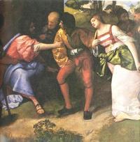 Abb. 3 Daniel rettet Susanna (Giorgione; 1478-1510).
