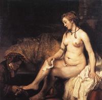 Abb. 3 Batseba (Rembrandt, 1654).