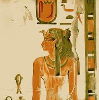 Aus: Naville, E., 1895, The Temple of Deir el Bahari I, London, Pl. XIII (Ausschnitt)