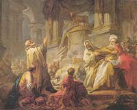 Abb. 3 Die Sünde Jerobeams (1Kön 12,26ff; Jean-Honoré Fragonard; 18. Jh.).