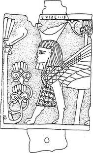 Aus: O. Keel / C. Uehlinger, Götter, Göttinnen und Gottessymbole (QD 134), Freiburg u.a. 5. Aufl. 2001, 232b; © Stiftung BIBEL+ORIENT, Freiburg / Schweiz