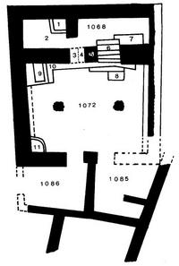 Aus: W. Zwickel, Der Tempelkult in Kanaan und Israel (FAT 10), Tübingen 1994, 179, Abb. 37; © Wolfgang Zwickel