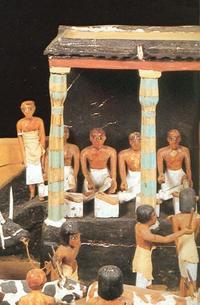 Aus: M. Saleh, Die Hauptwerke im Ägyptischen Museum Kairo. Offizieller Katalog, Mainz 1986, Nr. 76