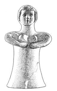 Aus: O. Keel / Chr. Uehlinger, Götter, Göttinnen und Gottessymbole (QD 134), Freiburg 5. Aufl. 2001, Abb. 321a; © Stiftung BIBEL+ORIENT, Freiburg / Schweiz