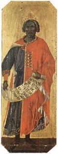 Abb. 1 König Salomo (Duccio di Buoninsegna; 1308-11).