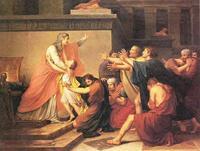 Abb. 4 Josef gibt sich seinen Brüdern zu erkennen (Francois-Pascal Gerard, 19. Jh.).