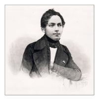 Abb. 1 Constantin Tischendorf (1847).