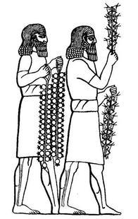 Aus: A.H. Layard, Nineve und Babylon nebst Beschreibung seiner Reisen in Armenien, Kurdistan und der Wüste, Leipzig 1856, Taf XIV N