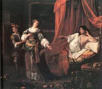Abb. 1 Amnon und Tamar (Jan Steen; 1626-1679).