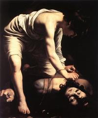 Abb. 2 David tötet Goliat (Caravaggio, 1573-1610 n. Chr.).
