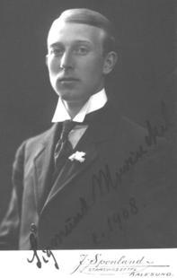 Abb. 1 Sigmund Mowinckel (1908).