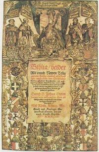 Abb. 7 Titelblatt der ersten katholischen deutschen Bibel von Johann Dietenberger (1534).