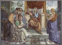 Abb. 1 Josef deutet den Traum des Pharaos (Peter von Cornelius; Fresco; 1816-17).