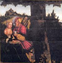 Abb. 9 Das 7. Gebot (Gemälde von Lucas Cranach; Detail von Abb. 2).