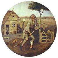 Bosch, Der Landstreicher, 1500, gemeinfrei